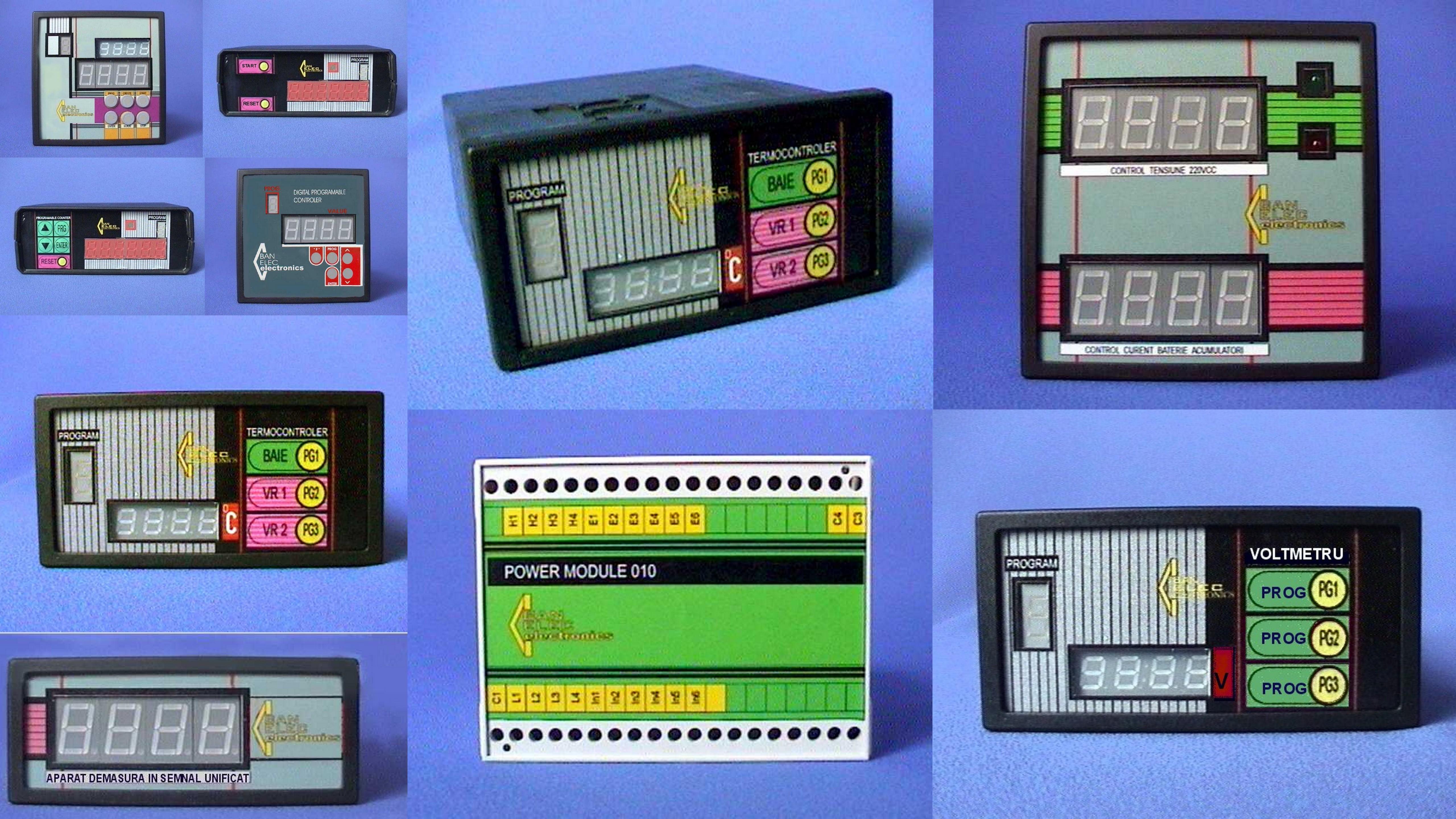 panouri arhiva diferite aparate